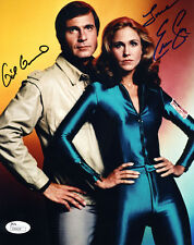 "(Ssg) Gil Gerard & Erin Gray Signed 8X10 ""Buck Rogers"" Photo with a Jsa Coa"