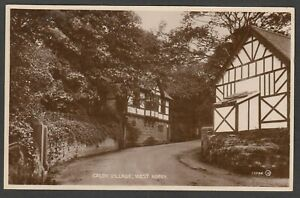 Postcard West Kirby near Hoylake Cheshire view of Caldy Village posted 1931 RP