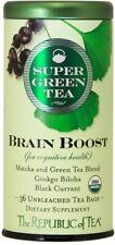 Organic Brain Boost SuperGreen Tea by The Republic of Tea, 36 tea bag