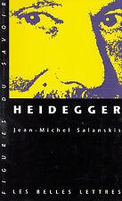 Heidegger par Jean-Michel Salanskis Les Belles Lettres #1 (Paperback 2003)