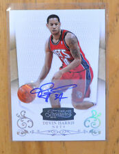 Devin Harris 2010-11 Panini Timeless Treasures Auto Autograph #D 21/49.  Dallas