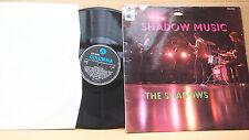 THE SHADOWS - SHADOW MUSIC ED1.BLACK/BLUE COLUMBIA SX 6041 GR. BRITAIN 1966