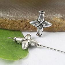 20pcs Tibetan silver cross spacer beads H0138