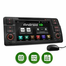 Android 10 Autoradio Touch SD DVD Bluetooth für Bmw E46 M3 Rover 75 Mg Zt
