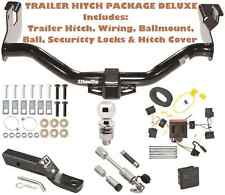 08-11 MAZDA TRIBUTE TRAILER TOW HITCH PKG DELUXE + WIRING + HITCH LOCKS & COVER