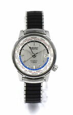 VINTAGE SEIKO WORLD TIME GMT AUTOMATIC WRISTWATCH 1964 ASIAN GAMES STAINLESS