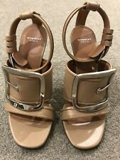 Givenchy buckle leather Sandals