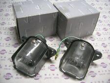 DATSUN 1200 License Lamp RH/LH Genuine (Fits NISSAN B110 Sunny Coupe B120 Ute)