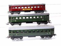 Schicht Piko (DDR) H0  3 Stück 4-achsige Schnellzugwagen Personenwagen