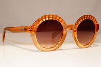 JUST CAVALLI Womens Designer Sunglasses Brown Round JC 747S 72F 21293