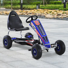 Pedal Go Kart Children Ride on Car Racing Style with Adjustable Seat