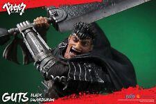 PREORDINE Berserk Statue Guts Black Swordsman 69 cm