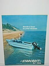 1966 Starcraft Fishing Sail Boat Canoe Catalog Manual Brochure
