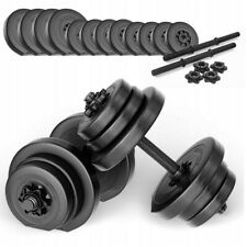 SAPPHIRE XYLO-Line dumbbell set 2x10kg - adjustable 20kg. Condition is NeW