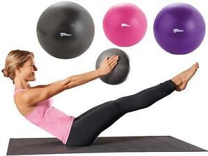3er-Set Yoga Bälle 26cm - 22cm - 18cm Fitness Gesundheitsball Gymnastik Ball Neu
