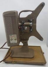 Vintage KEYSTONE BRIGHTBEAM K-70 8mm MOVIE PROJECTOR with Portable Case WORKS