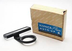 Konica Press Camera Auto-Up II Close Up Attachment (Boxed) - UK Dealer