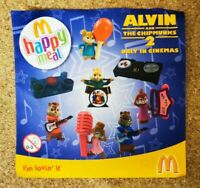 McDonalds Happy Meal Toy 2009 UK Alvin & The Chipmunks Toys - Various Artists