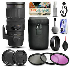 Sigma 70-200mm F2.8 EX DG OS APO HSM Lens for Nikon + Beginner Accessory Kit