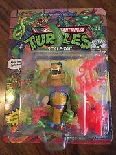Teenage Mutant Ninja Turtles figure Scale Tail Unpunched card TMNT MOC