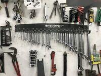 4ft Wrench Organizer Tray Rack Storage Holder Socket Organizer SAE/Metric