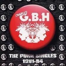 G.B.H. : The Punk Singles 1981-84 CD (2002) ***NEW***