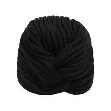 Rib Knit Turbante Estilo Gorro Damas Moda Invierno Accesorios Regalo Para Ella