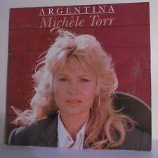 """33 tours Michèle TORR Disque Vinyle LP 12"""" ARGENTINA - Charles TALAR 930351 Rare"""