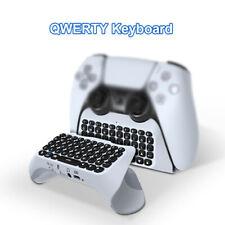 1Pcs Wireless Keyboard Controller Gamepad for PS5 Built Speaker Gamepad Keyboard