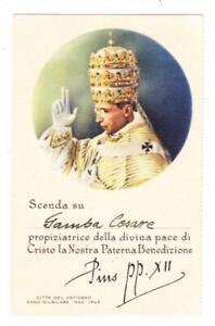 Vatican City Sc#23-CITTA DEL VATICANO POSTE 26/VI/1942-POPE PIUS XII-MULTICO