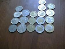 Lotto monete 50, 100, 200, 500, 1000 Lire