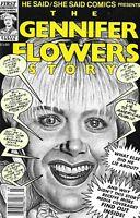 Gennifer Flowers Bill Clinton Comic Issue 1 Modern Age First Print 1993 Friedman