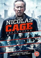 NICOLAS CAGE COLLECTION Dying of Light/Dog Eat Dog/Trust 3DVD in Inglese NEW.cp