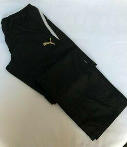 PUMA Mens King Pant Black Brand New Sizes M and L