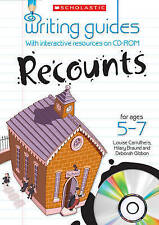 Recounts for Ages 5-7 (Writing Guides), Carruthers, Louise, Gibbon Deborah,, Bra
