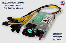 1200 Watt Mining Power Supply for Antminer E3 / L3 / X3 (110V-220V)