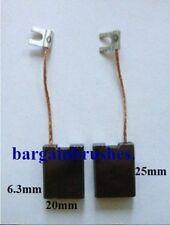 Carbon Brushes to fit Milwaukee  Hammer KANGO PB32B 6.3X20x25 PB 32B PB32B- D40