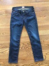 Hudson Women's Collette Skinny Dark Wash Denim Jeans USA Made Sz 26 x 28 VGUC