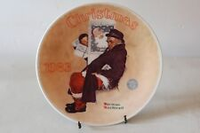Norman Rockwell Edwin Knowles Christmas 1983 Collectible Plate Numbered L#510c