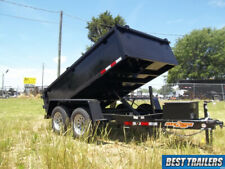 2021 Down To Earth 6 X 10 7k Low Pro Dump Trailer 2 Ft Sides Utility Power Up Do