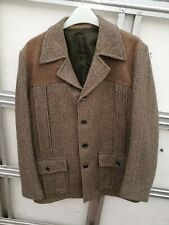 """Vintage ~Mens ~Dunn & Co. ~Wool Jacket with Patches in VGC ~Size 40"""" Chest"""