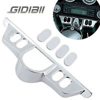 Switch Dash Panel Accent Cover For Harley Street Electra Glide Trike 2013 Chrome
