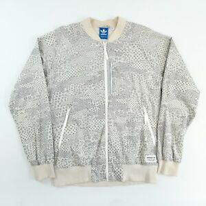 Vintage Adidas Originals Patterned Track Jacket L Full Zip