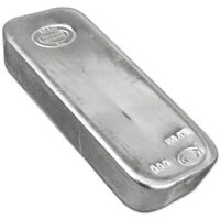 100 oz. Silver Bar - Asahi Refining .999 Fine