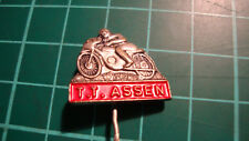 TT Assen pin badge 60's speldje broche anstecknadel motorbike racing Superbike