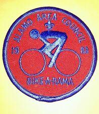 Vintage Scout Patch Alamo Area Council Bike-A-Rama 1983