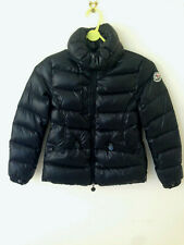 Moncler Girl's Down Puffer Jacket 8 yrs / 128 cm Dark Blue