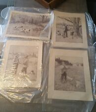 A.B. Frost W.T. Smedley Prints Lot of 4