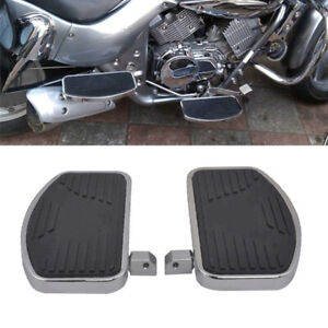 1 Pair Adjusted Motorcycles Bike Front Rider Floorboards Foot Boards Pedal Kit