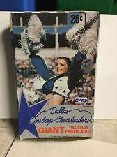 1981 Dallas Cowboys Cheerleaders cards full box
